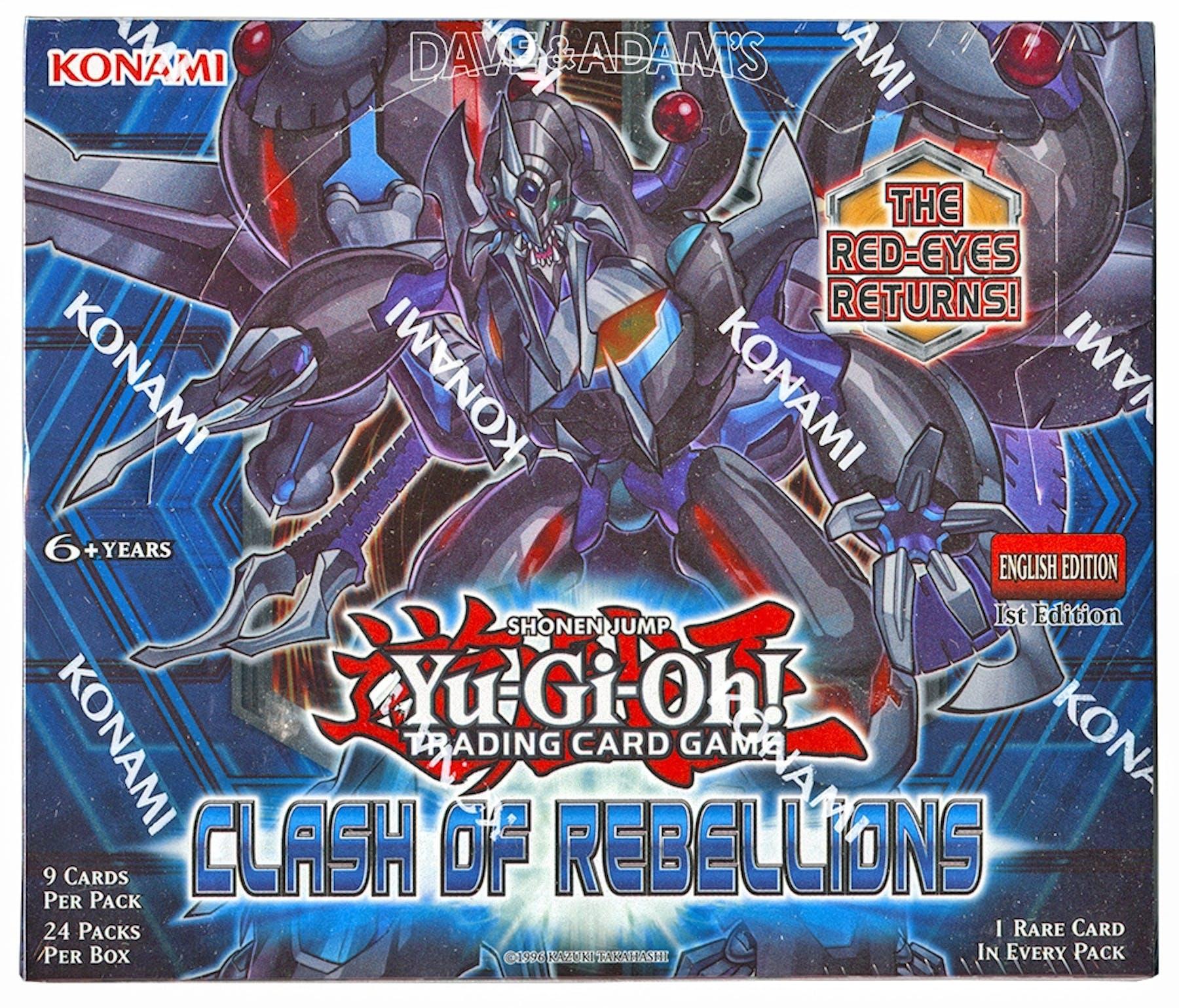 Yu Gi Oh Clash Of Rebellions 1st Edition Booster Box Da