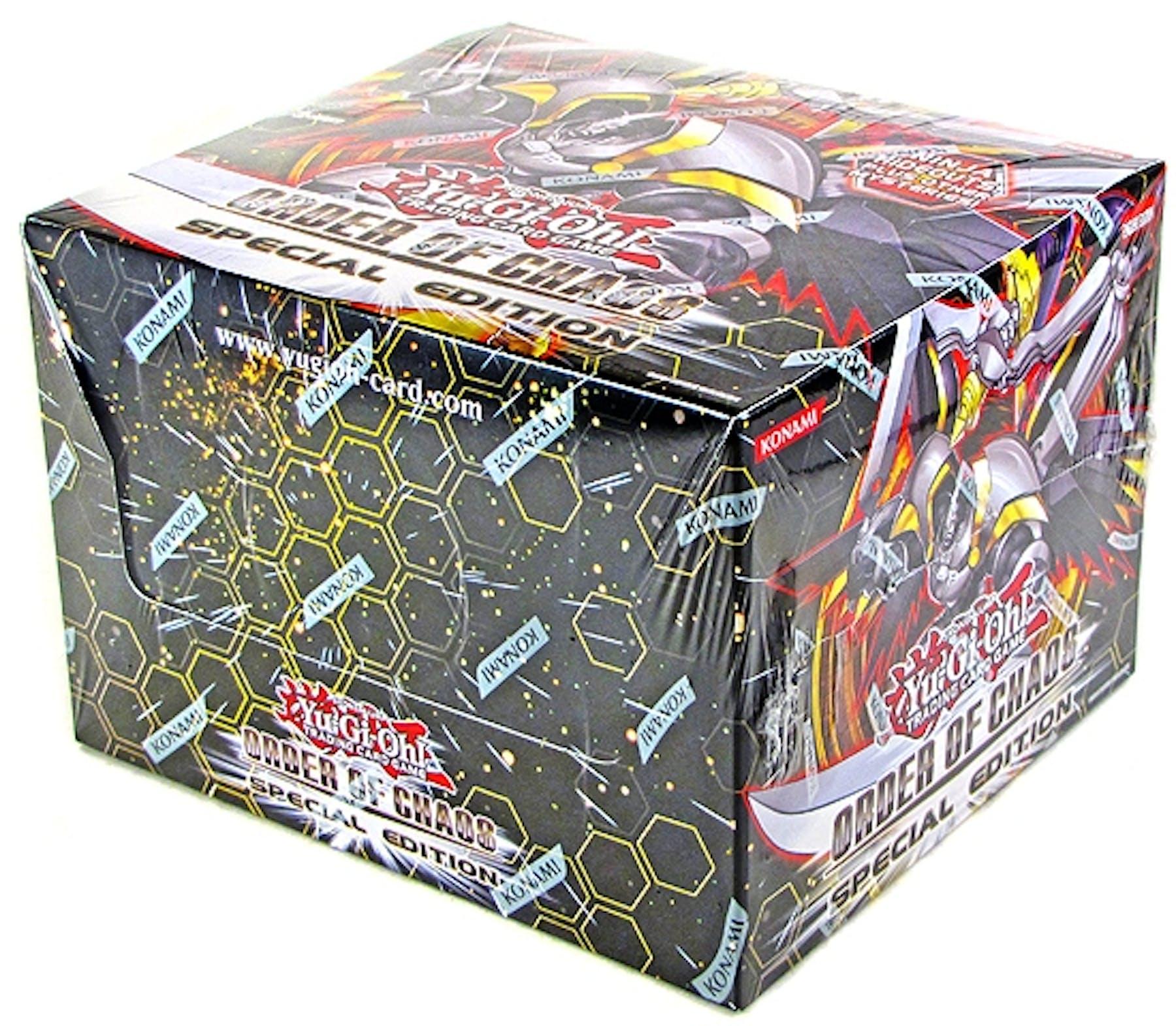 Konami Yu-Gi-Oh Order Of Chaos Special Edition Box