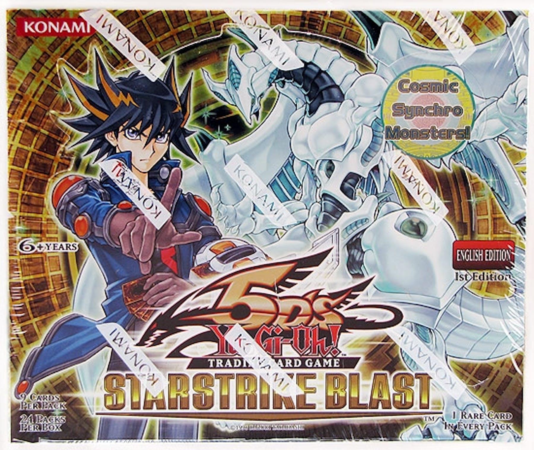 Konami Yu-Gi-Oh Starstrike Blast Booster Box 1st Edition