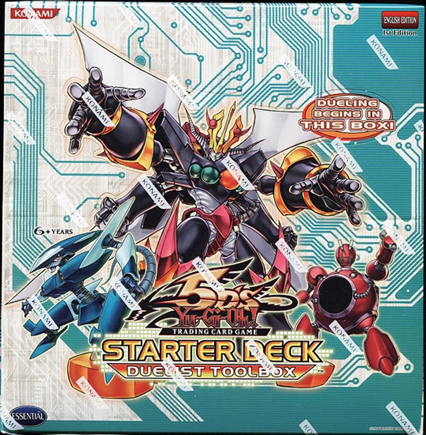 Yu-Gi-Oh 5D's Duelist Toolbox Starter Box (Konami)