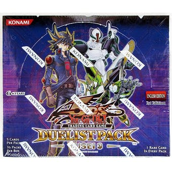 Yu-Gi-Oh Duelist Pack Yusei 3 Booster Box
